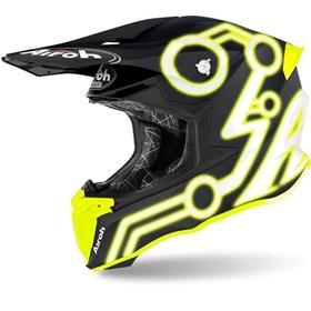 Capacete Airoh Twist 2.0 Amarelo Neon Fosco