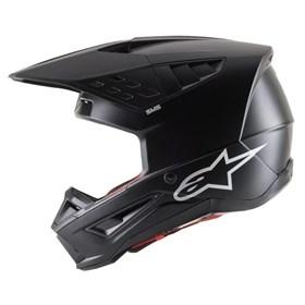 Capacete Alpinestars SM5 Solid - Preto Fosco