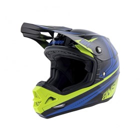 Capacete Answer AR3 Charge - Preto Amarelo Flúor