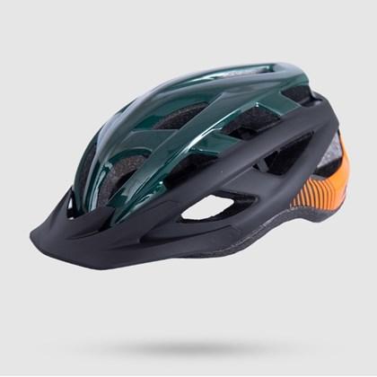Capacete Asw Bike Fun - Verde Preto