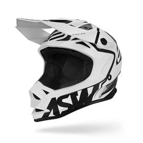 Capacete ASW Fusion Brigade - Branco Preto