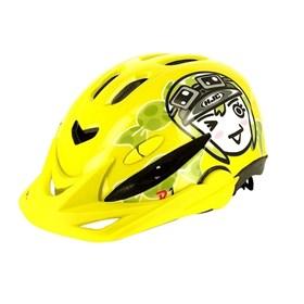 Capacete Bike HJC Infantil R1 - Amarelo