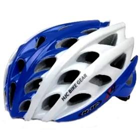 Capacete Bike HJC X4 - Azul Branco