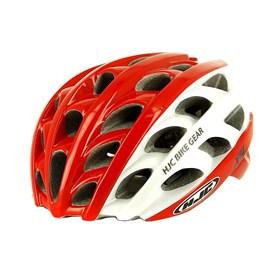 Capacete Bike HJC X4 - Vermelho Branco