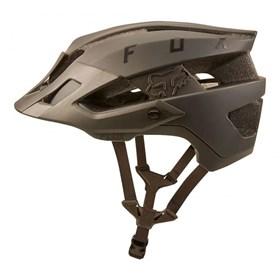 Capacete Fox Bike Flux Solid - Marrom
