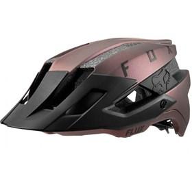 Capacete Fox Bike Flux Solid - Preto Iridium
