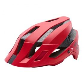 Capacete Fox Bike Flux Solid - Vermelho