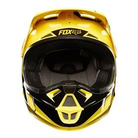 Capacete Fox V1 Infantil Mastar - Amarelo