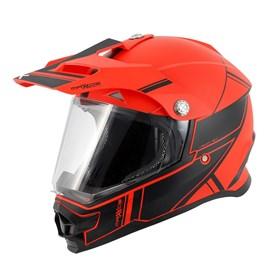 Capacete Mattos Racing TTR 2 - Vermelho Preto