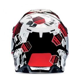 Capacete Thor Verge Block AMP - Vermelho