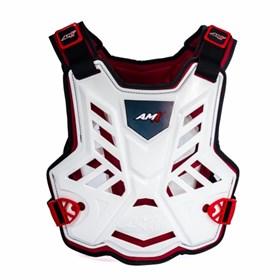 Colete AMX Control - Branco Vermelho