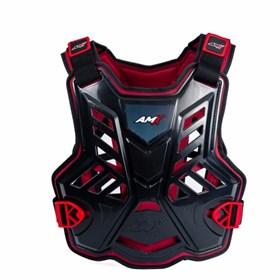 Colete AMX Control Infantil - Preto Vermelho