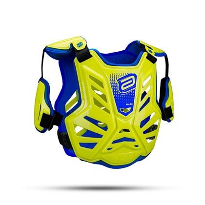 Colete ASW Maxx - Amarelo Flúor Azul