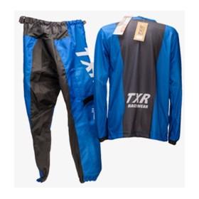 Conjunto TXR Infantil Camuflado MX - Azul