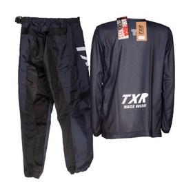 Conjunto TXR Infantil Camuflado MX - Preto