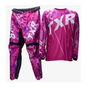 Conjunto TXR Infantil Camuflado MX - Rosa