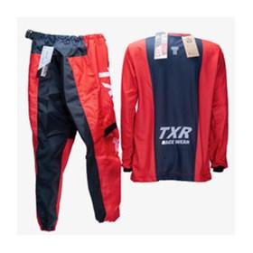 Conjunto TXR Infantil Camuflado MX - Vermelho