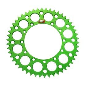 Coroa Renthal Alumínio KX 125/250/250F/450F 87/15 - Verde