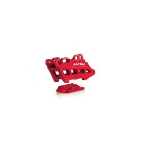 Guia de Corrente Traseiro Acerbis CRF 250/450 R/X - Vermelho