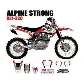Kit Adesivo 5inco - Alpine Strong ref-320