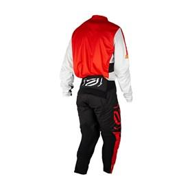 Kit Calça + Camisa ASW Image Knight 21 - Vermelho Preto Branco