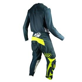 Kit Calça + Camisa ASW Podium Race Era - Verde Branco