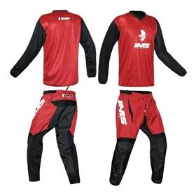 Kit Calça + Camisa IMS MX - Vermelho