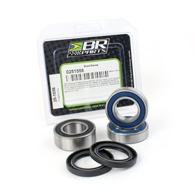 Kit De Rolamento De Roda Traseira BR Parts - CRF 230 03/19 CRF 150F 03/17