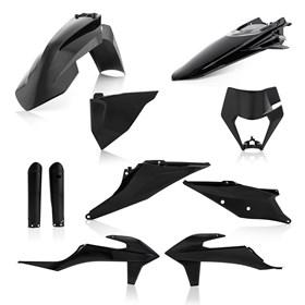 Kit Plastico Acerbis KTM EXCF 250/350/450 20/21 XCFW 350 20/21 - Preto