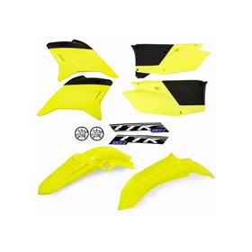 Kit Plástico AMX TTR 230 - Amarelo