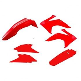 Kit Plástico Avtec CRF 230 15/17 - Vermelho