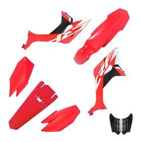 Kit Plástico Biker Evo CRF 250F - Vermelho