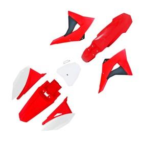 Kit Plástico Biker Next CRF 230 08/19 - Vermelho Branco