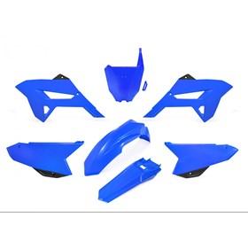 Kit Plástico Biker R1de CRF 230 08/18 - Azul