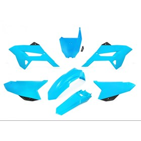 Kit Plástico Biker R1de CRF 230 08/18 - Azul Neon