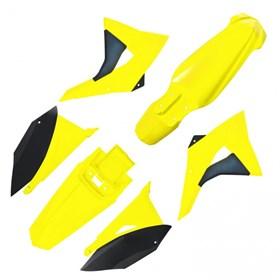 Kit Plastico Elite Biker CRF 230 - Amarelo Neon Preto