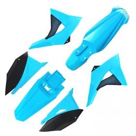 Kit Plastico Elite Biker CRF 230 - Azul Neon