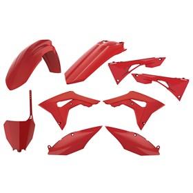Kit Plastico Polisport - CRF 250 18/21 CRF 450 17/20 - Vermelho