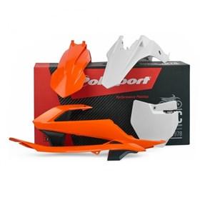 Kit Plástico Polisport KTM 65 16/18 - Laranja