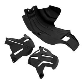 Kit Protetor de Motor Anker CRF 250F - Preto