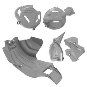 Kit Protetor II Anker CRF 250F - Cinza