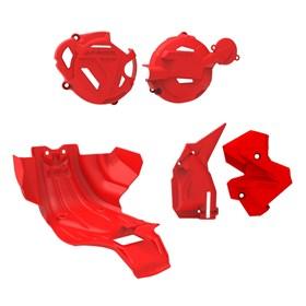Kit Protetor II Anker CRF 250F - Vermelho