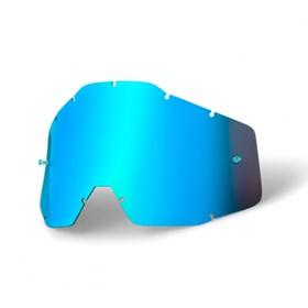 Lente 100% Anti Embaçante Espelhada - Azul