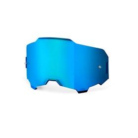 Lente 100% Armega Espelhada - Azul