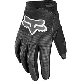 Luva Fox 180 Infantil Oktiv Glove - Preto