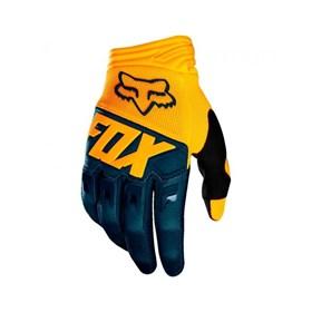 Luva Fox Dirtpaw Race - Azul Amarelo