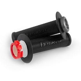 Manopla Biker Lock-On CRF X-R 04/17 - Preto