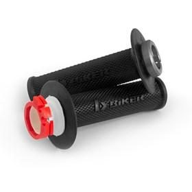 Manopla Biker Lock-On YZF 01/11 KXF 04/20 RMZ 04/06 - Preto