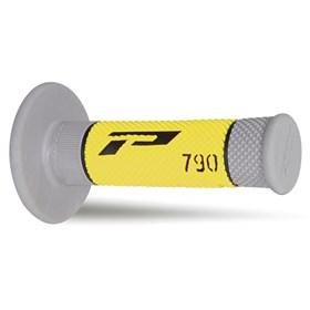 Manopla Pro Grip 790 Amarelo e Cinza