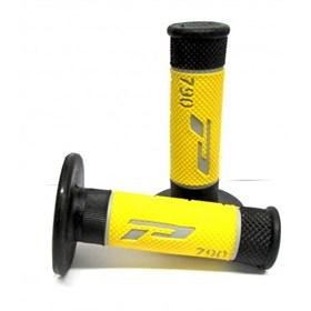 Manopla Pro Grip 790 Preto e Amarelo
